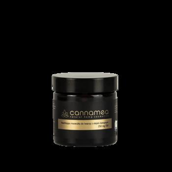 Cannamea - nawilżająca maseczka do twarzy z olejem konopnym i 250 mg CBD