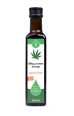 Olej konopny spożywczy 250 ml